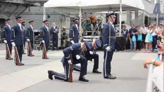 U.S. Air Force Honor Guard Drill Team