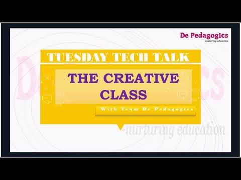 TECH TALK TUESDAY   THE CREATIVE CLASS