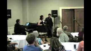 Sweeney Todd - A Little Priest - Jenna Carlson and Ken Holmes