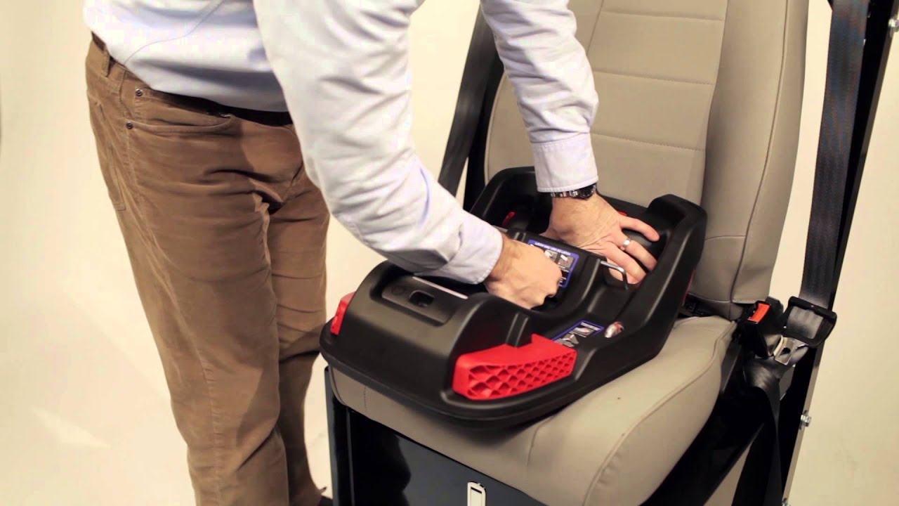 Britax B Safe 35 Elite Infant Car Seat Installation Video