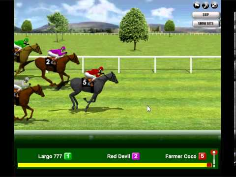 casino games virtual horse racing