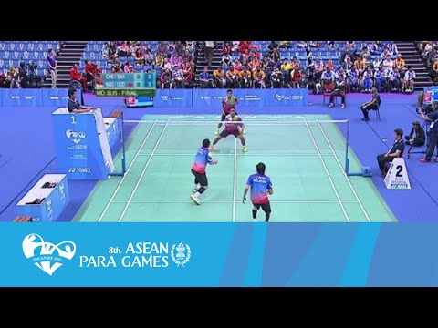 Badminton Finals MD SU5 (Day 5) | 8th ASEAN Para Games 2015
