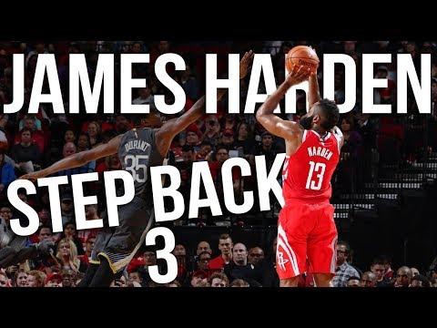 James Harden Step Back 3