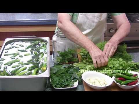 Солёные огурцы - Рецепт Бабушки Эммы