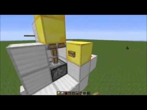 comment faire un ascenseur dans minecraft sans plugins 1 7 2 fr youtube. Black Bedroom Furniture Sets. Home Design Ideas