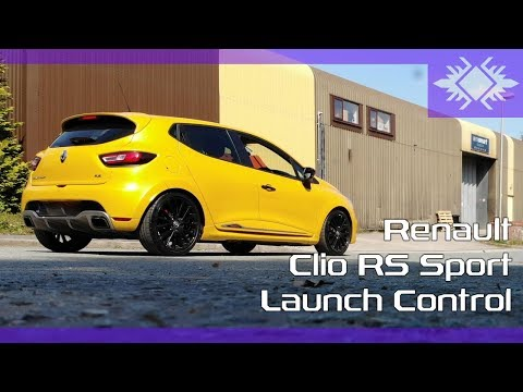 Launch Control | Renault Clio RS Trophy 220 | Akrapovic | 4K