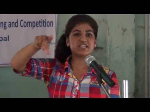Higher Secondary School Debate Competition - Kathmandu - 2012