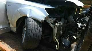 firstsuddi- sandelwood star Darshan  car accident  photos.