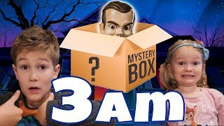 DON'T OPEN Mystery Box at 3am!! Mystery Box from CarlayleeHD!!