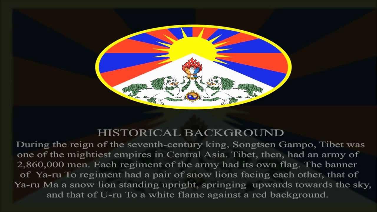 Tibetan National Flage Explanation Symbole Youtube