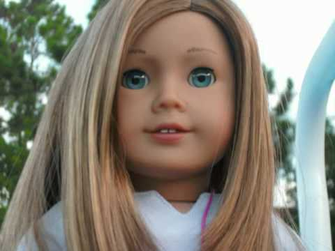 american girl doll savannah's photoshoot MAG#39 - YouTube