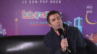 Liam Gallagher en direct du Lollapalooza Paris