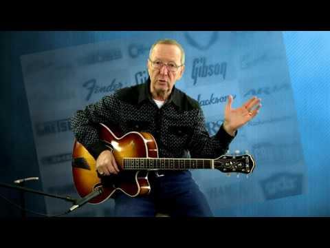 Vintage Guitars for Sale – 1959 Vintage Hofner The President Arch Top Soft shell Case