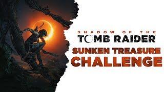 Shadow of the Tomb Raider • Sunken Treasure Challenge • Underwater Treasure Chests • Cenote