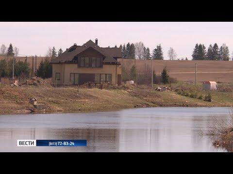 Стройка на Тошне в Вологде. Законно ли возведение коттеджей на берегу реки?