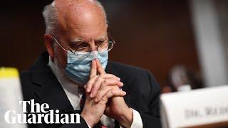 NIH and CDC directors testify on coronavirus vaccine in US senate – watch live