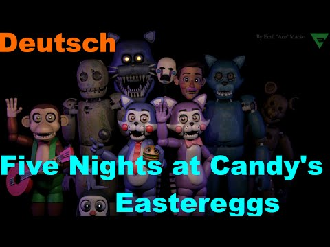 Five Nights at Candy's 1, 2 und 2 Simulator Eastereggs | Deutsch/German