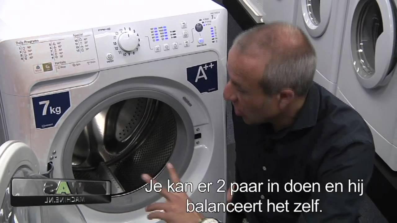 Indesit PWC71472 wasmachine Top wasautomaat van Indesit Bekijk demo