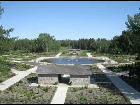International Peace Garden Of North Dakota Manitoba Doovi