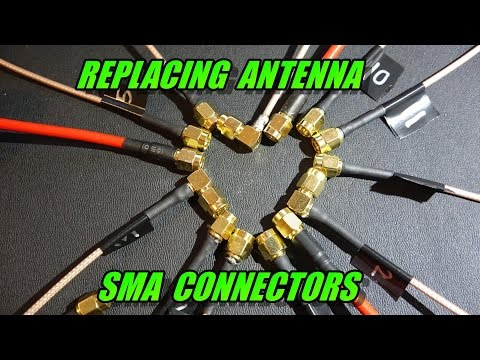 Replacing Antenna SMA Connectors (multirotor FPV)