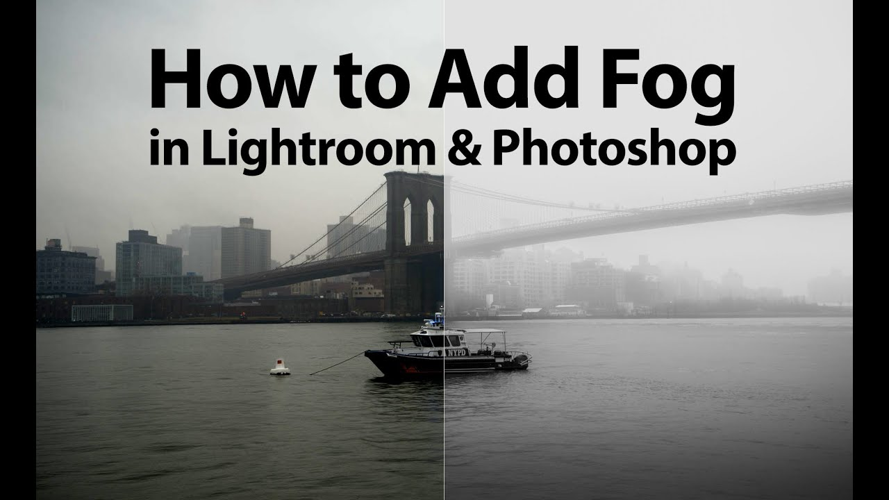 How to add fog in Photoshop - YouTube