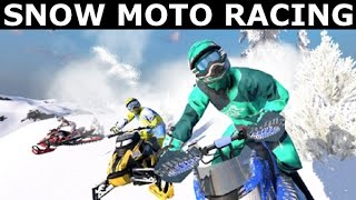 Snow Moto Racing Freedom Gameplay - PC Walkthrough (No Commentary) (Steam Racing Game 2017)
