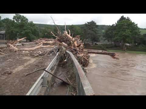 Download Top Channel/ U lye me baltë gjatë përmbytjeve, pushohet nga puna gazetarja gjermane!
