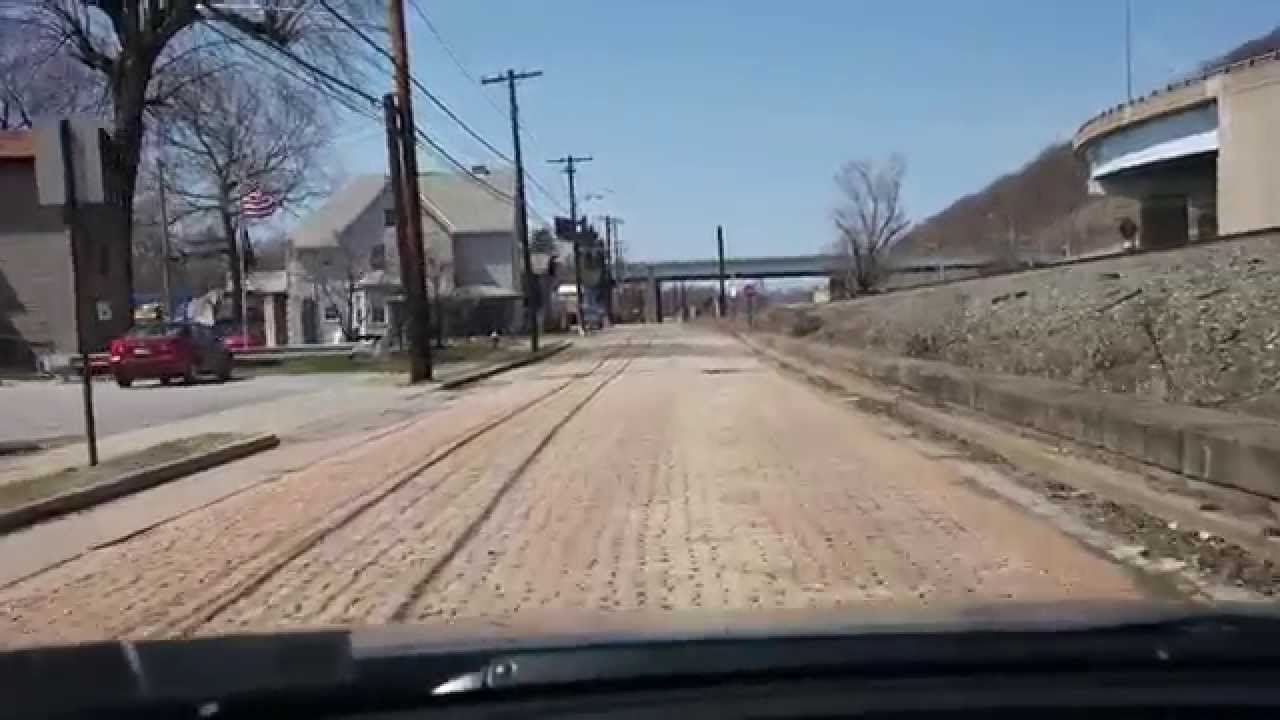 Original 1913 Lincoln Highway In Existence Youtube