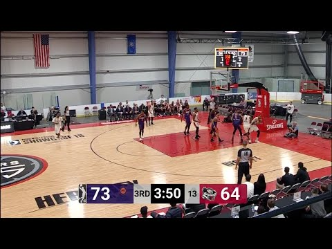 Mike Young Posts 12 points & 11 rebounds vs. Erie BayHawks