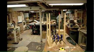 Shaker Nightstand Of Reclaimed Pine Time Lapse