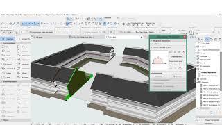 Моделирование застройки Сложным Профилем в ARCHICAD