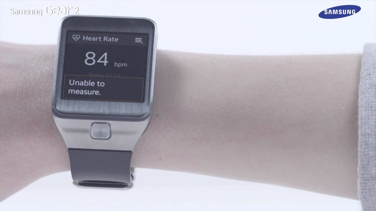 Samsung Galaxy Gear 2 | How To: Use the Heart Rate Monitor