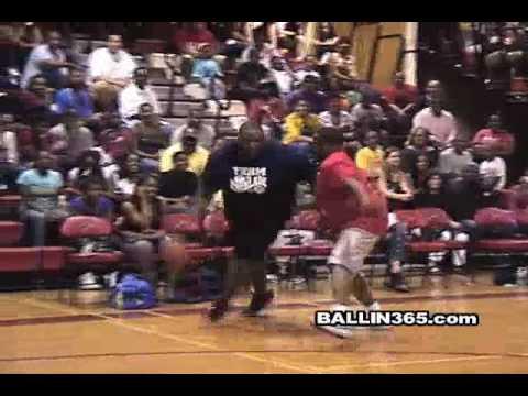 Streetball legend Escalade battles defender with mixtape move
