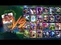 ARENA TOWER VS ALL CARDS IN CLASH ROYALE