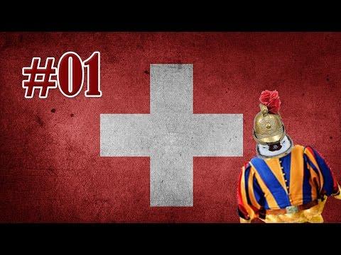 Europa Universalis IV - Suisse Ep01 - Allons envahir les gnôles!