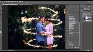 how to add sparklers in photoshop and pse sparkler overlay preview and tutorial