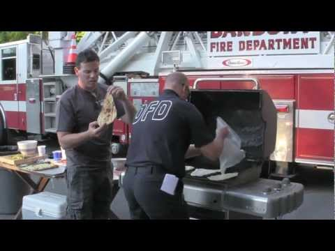 Grilled Pizzas with Danbury, CT Firehouse