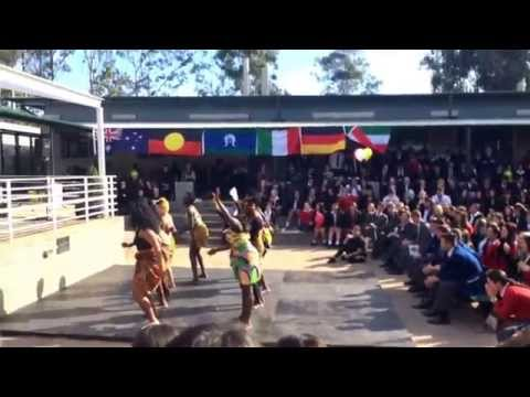 Loyola Senior High School - Multicultural Day, african traditional dance
