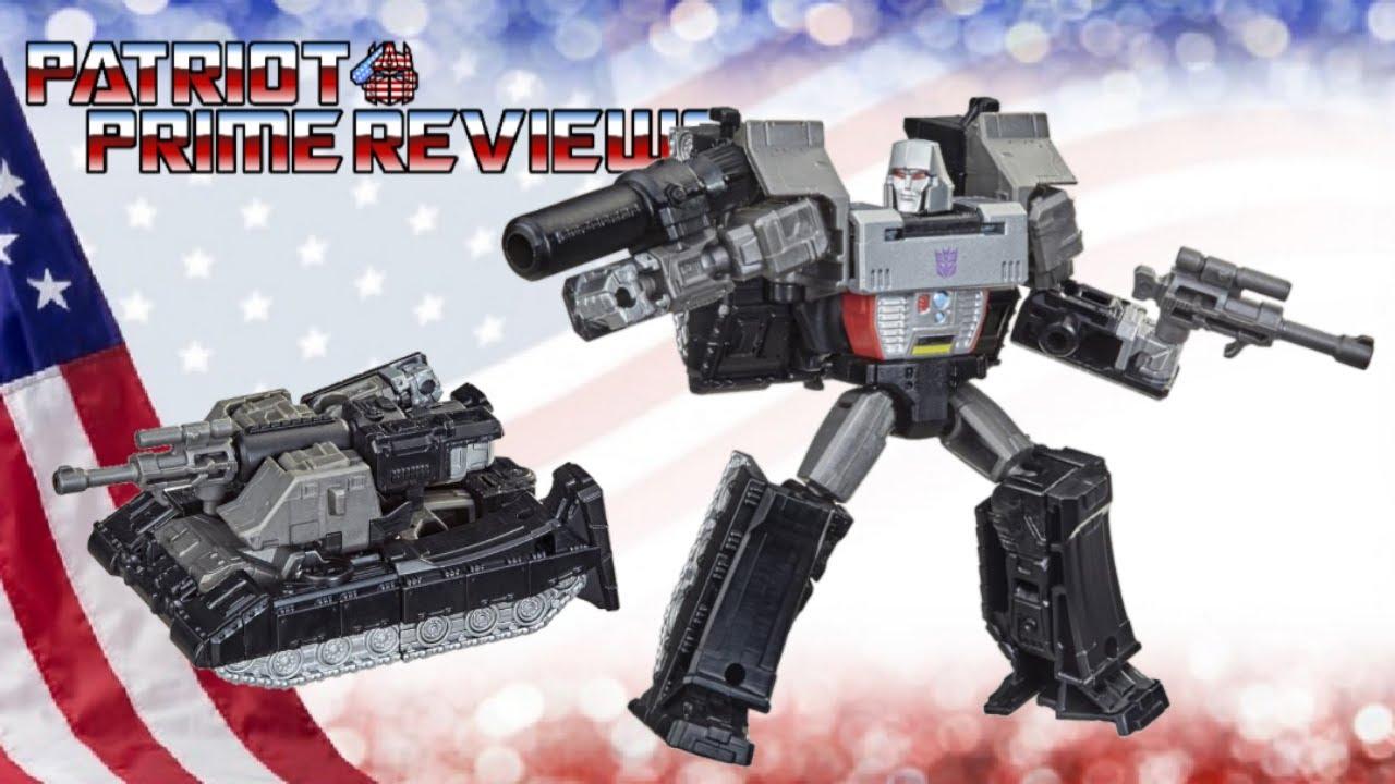 Patriot Prime Reviews Kingdom Core Class Megatron