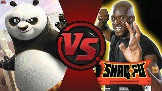 Kung Fu Panda vs Shaq Fu! (Po vs Shaquille O'neal) | Animation
