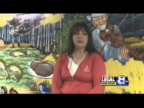 Local woman paints murals at Cloverdale school
