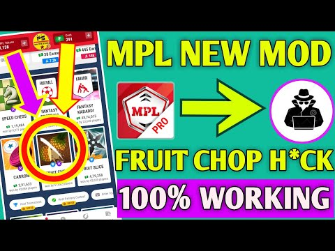 Mpl New Mod Apk | Mpl Fruit Chop Trick | Mpl Fruit Chop Bomb H*ck