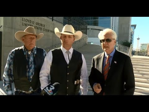 Cliven and Ryan Bundy announce legal action theyre taking against the U S  government  10/31/18