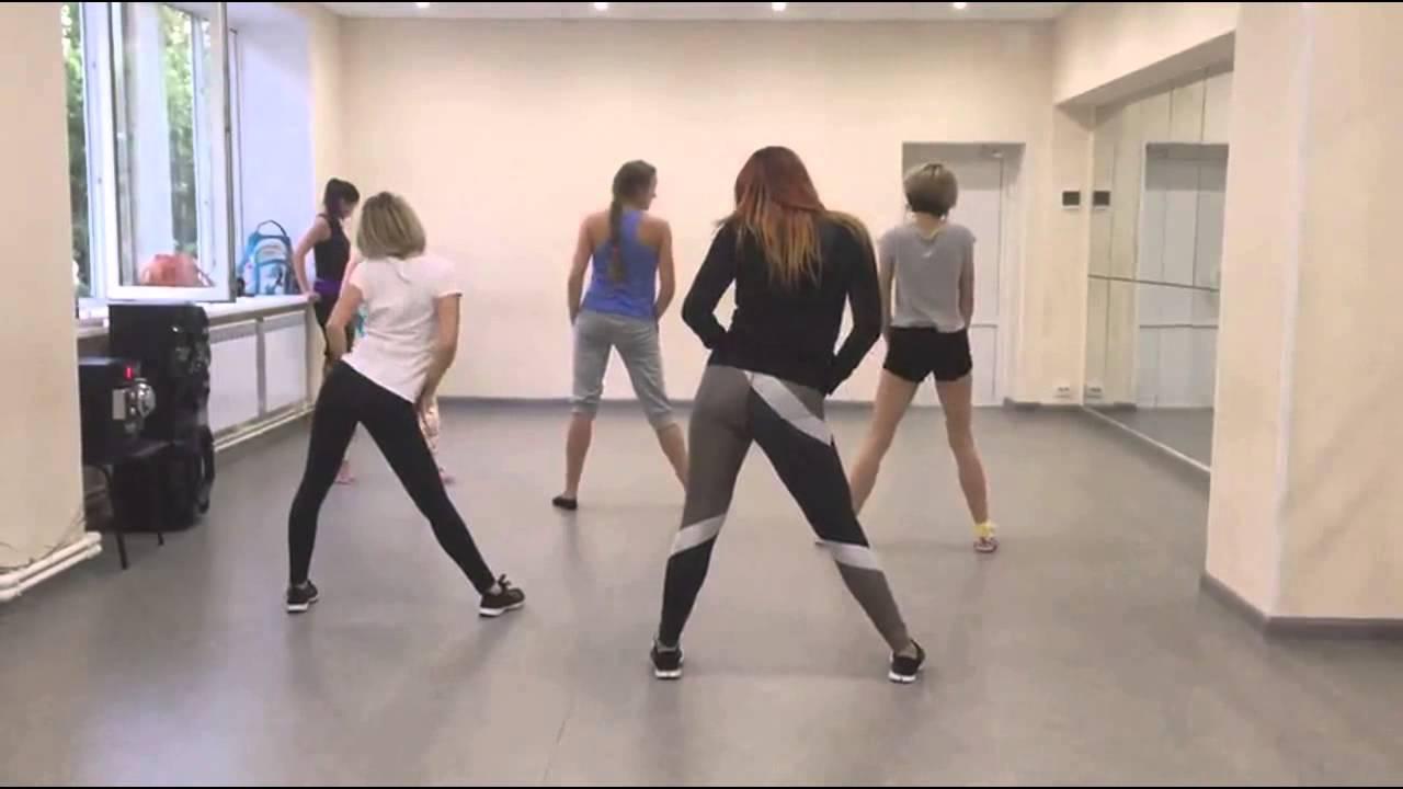 танцы красивых телок