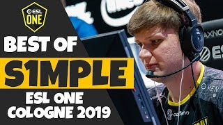 CS:GO Best of s1mple from ESL One Cologne 2019