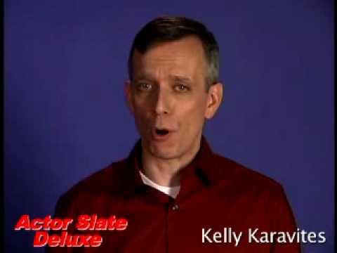 Kelly Karavites Deluxe Actor Slate