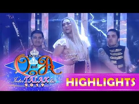 It's Showtime Miss Q & A: Yummy Pork Tocino delivers her best and funny introduction