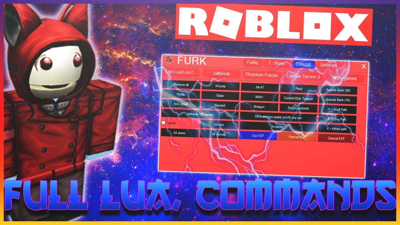 Roblox Exploit Hack Full Lua Overpowered Commands