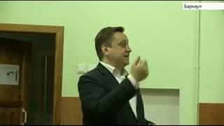«Урок цифры»  провел в барнаульской гимназии министр образования и науки Алтайского края