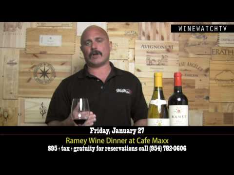Ramey Tasting at Cafe Maxx Jan 27, 2017 - click image for video